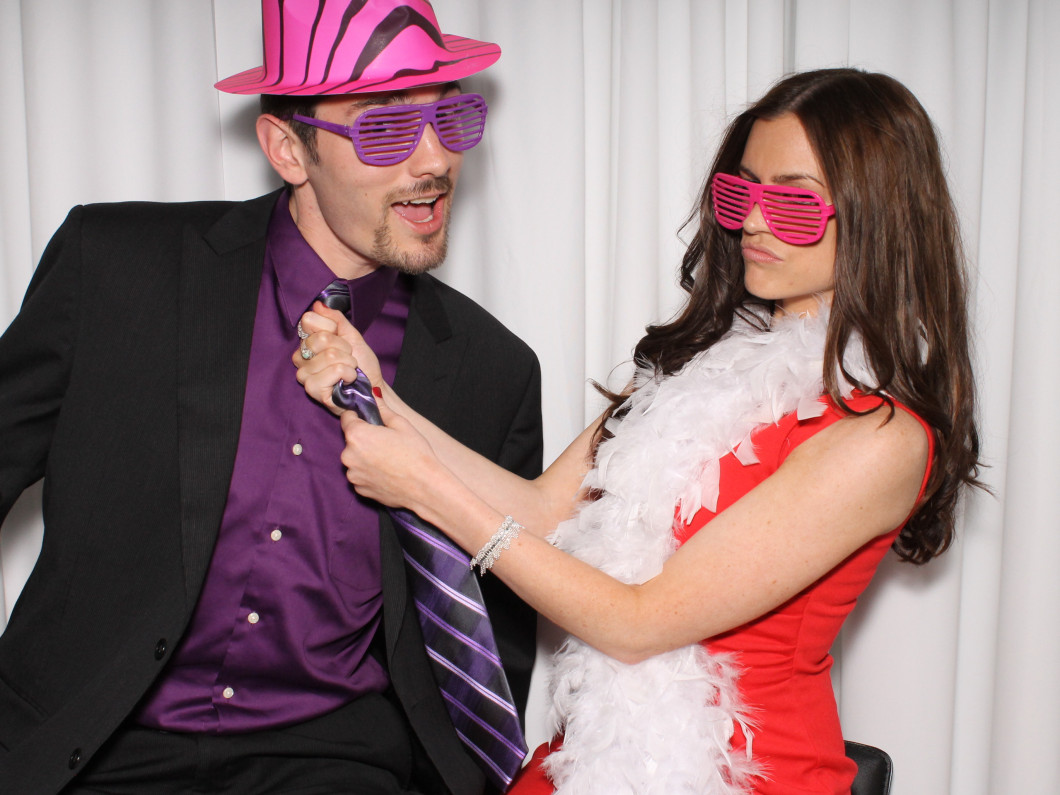 Add Some Extra Pizzazz With A Photo Booth!